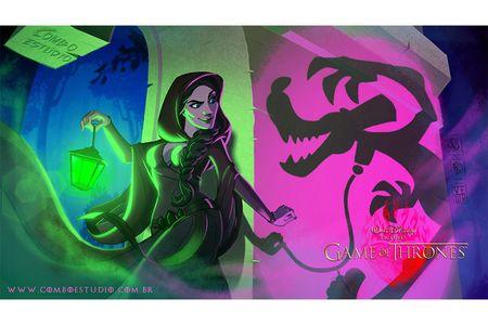 Melissandre al estilo Disney