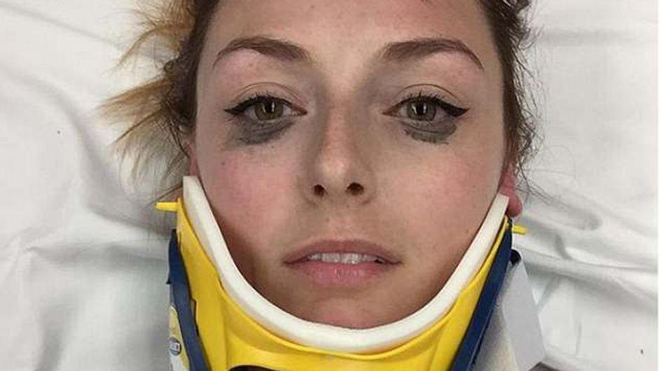 Elle poste un avis sur son eye-liner après son accident de voiture et déchaîne la Toile ! (Photos)