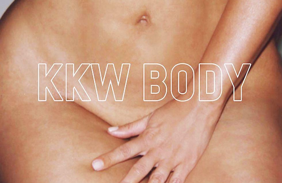 Elle recrée la pub dénudée de Kim Kardashian, et nous fait décomplexer (Photos)