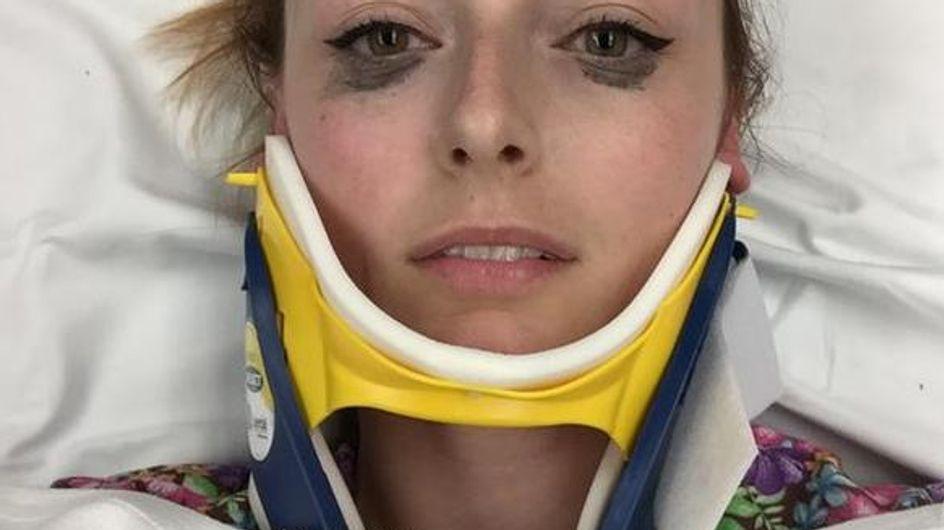 Una chica descubre el delineador perfecto tras sufrir un accidente