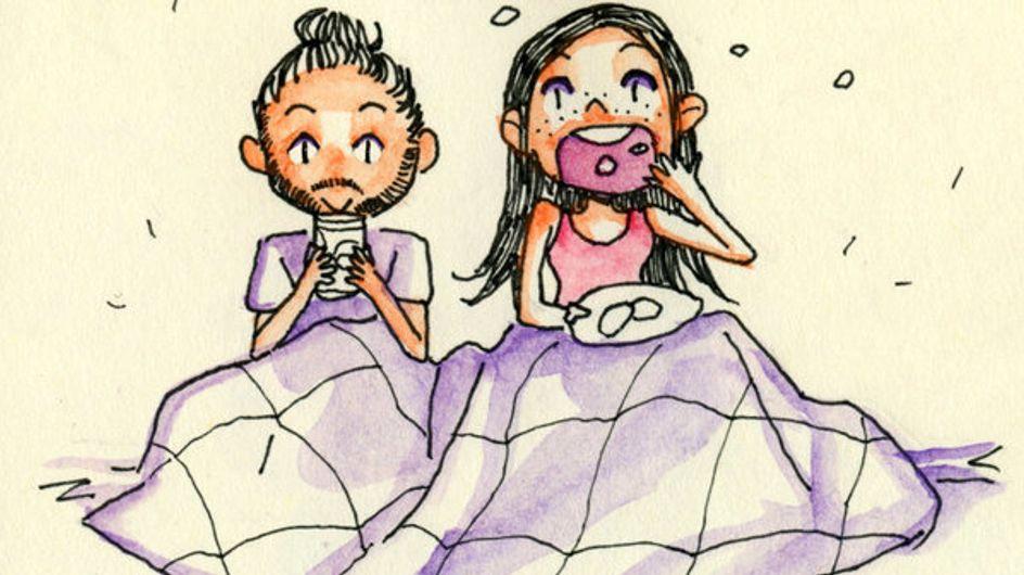 Este cómic cuenta cómo es una historia de un amor que comienza en Internet