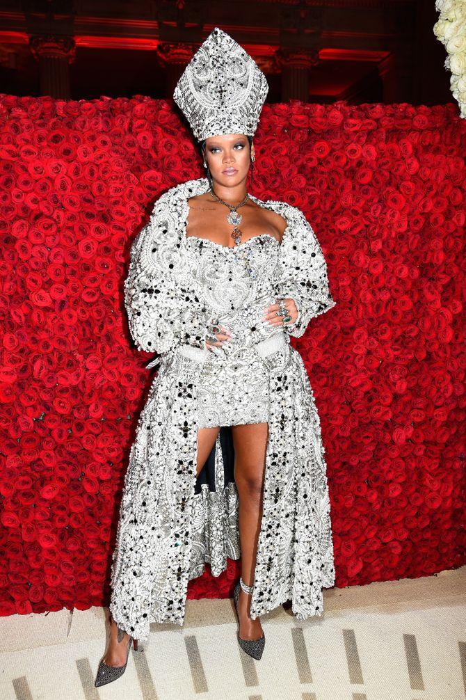 Met Gala 2018 : Rihanna