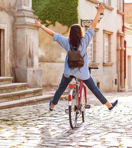 Fahrrad fahren: Kalorien verbrennen, Pomuskeln stärken - so werdet ihr fit!