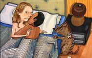 Estas ilustraciones muestran lo que no se ve de una relación