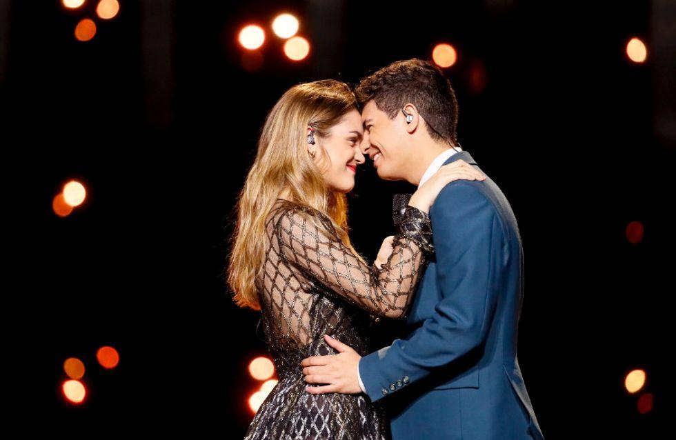 Amaia y Alfred tropiezan en Eurovisión con un puesto 23