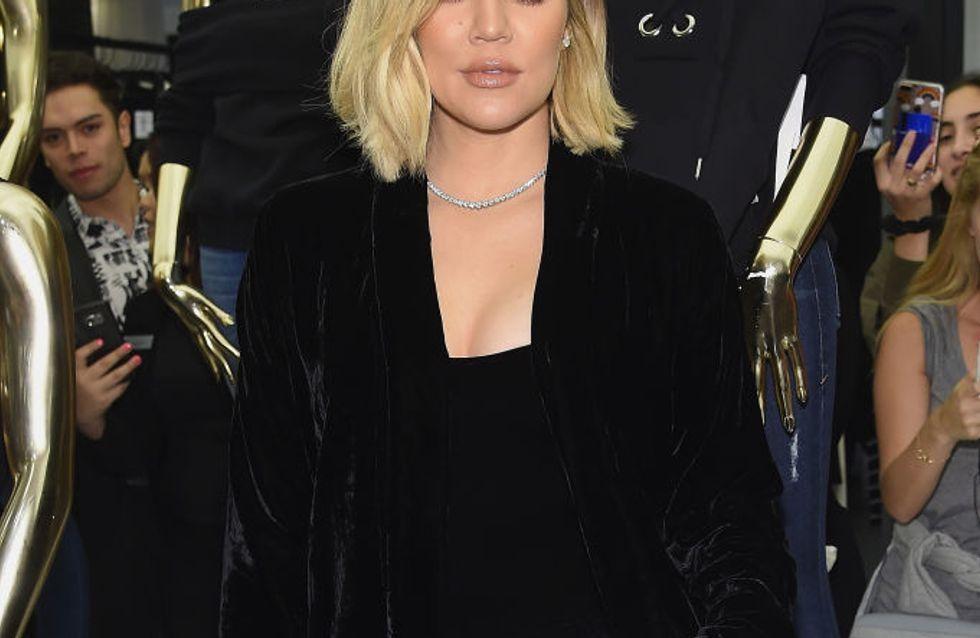 Khloé Kardashian dévoile le visage de sa fille True dans une vidéo adorable