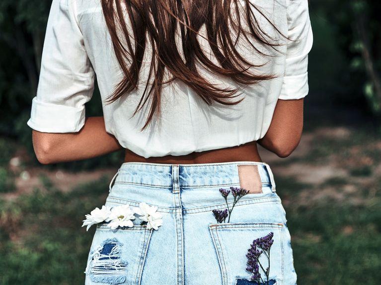 Destroyed Jeans Selber Machen Diy Tutorial Für Die Trend Jeans