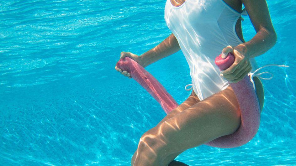 Wassergymnastik: Die besten Aquagym-Übungen für Bauch, Beine & Po