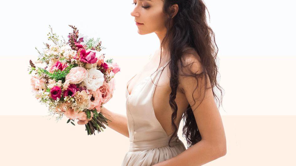 Weiß, Ivory, Blush oder Champagner: Welche Brautkleidfarbe steht mir?