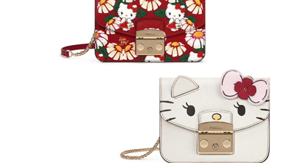 Vous allez craquer pour ces petits sacs tout mignons Furla x Hello Kitty