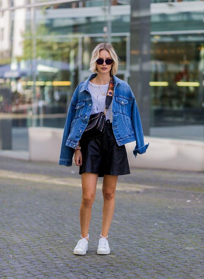 Jeansjacke kombinieren