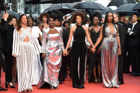 """Les co-auteures de l'ouvrage """"Noire n'est pas mon métier"""" à Cannes"""