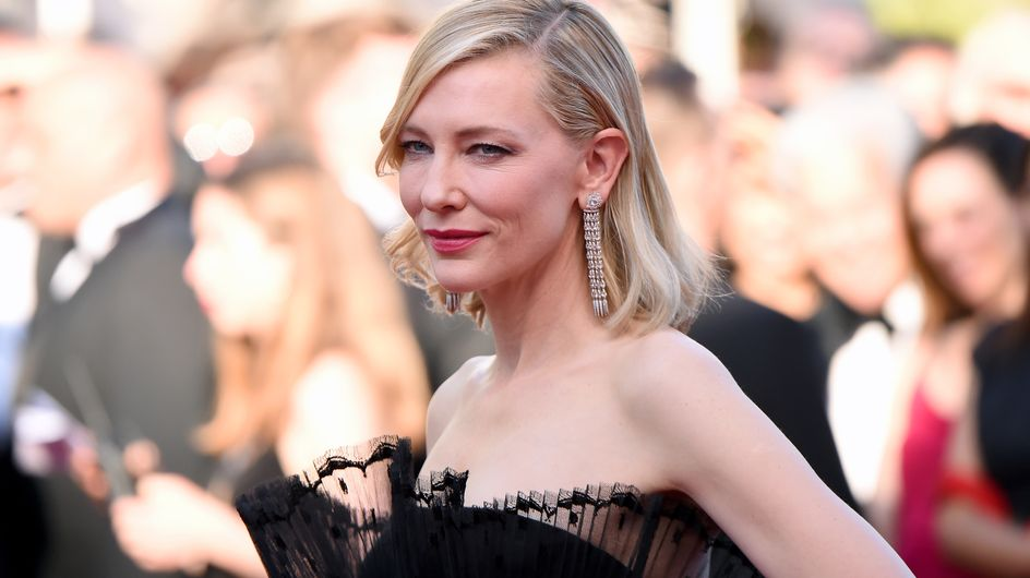 Cate Blanchett n'a pas opté pour une robe à Cannes mais était quand même la plus resplendissante