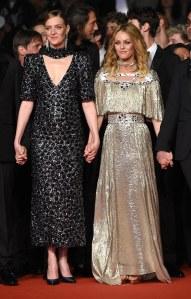 Vanessa Paradis et Kate Moran à Cannes