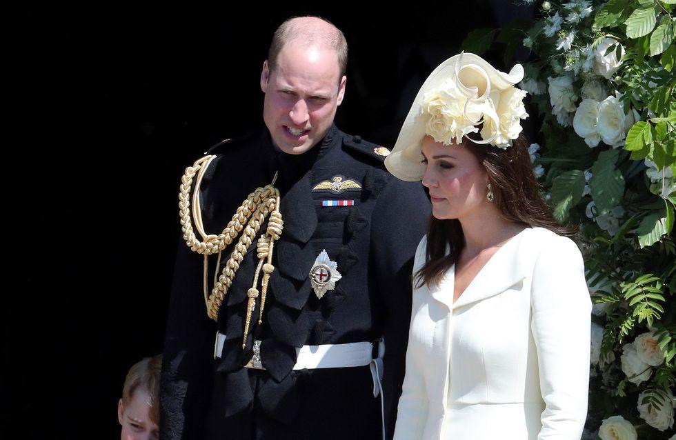 Kate Middleton, son arrivée en famille n'est pas passée inaperçue au mariage princier