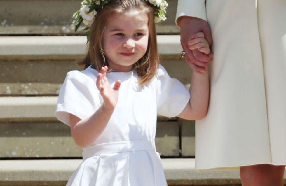 La Princesse Charlotte absolument adorable devient la star du mariage princier (Photos)