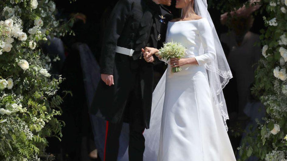 Fan de la robe de mariée Givenchy de Meghan Markle ? Vous pouvez vous l'offrir !