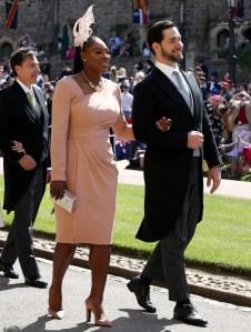 Serena Williams en baskets pour le mariage du prince Harry et Meghan Markle