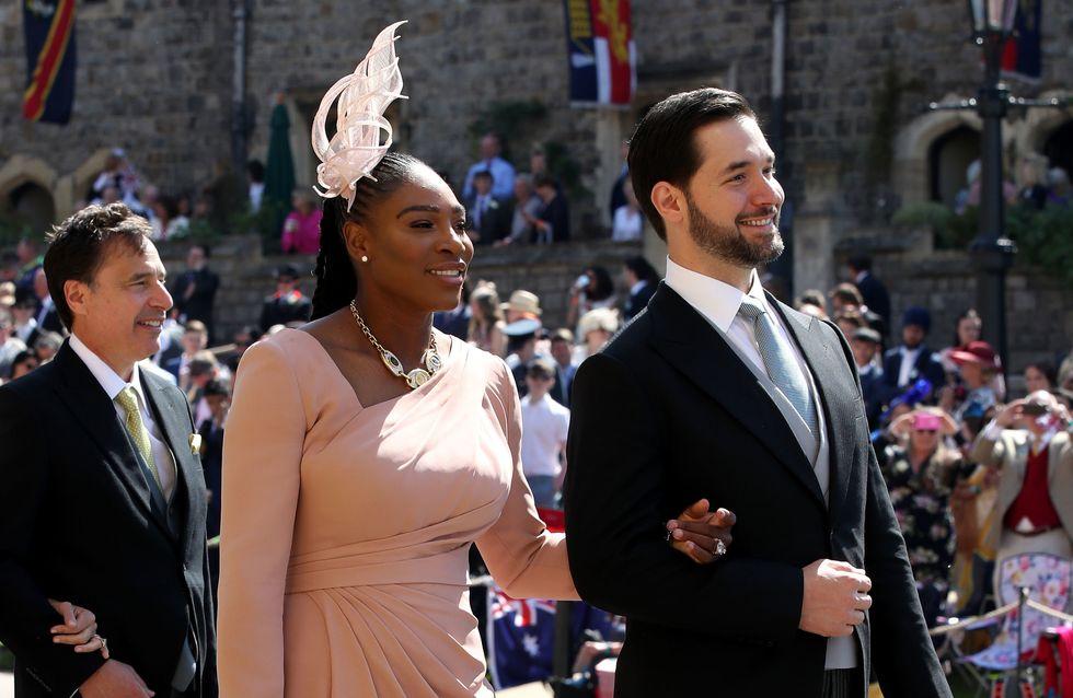 Serena Williams ose les baskets pour le mariage du prince Harry et Meghan Markle (photos)