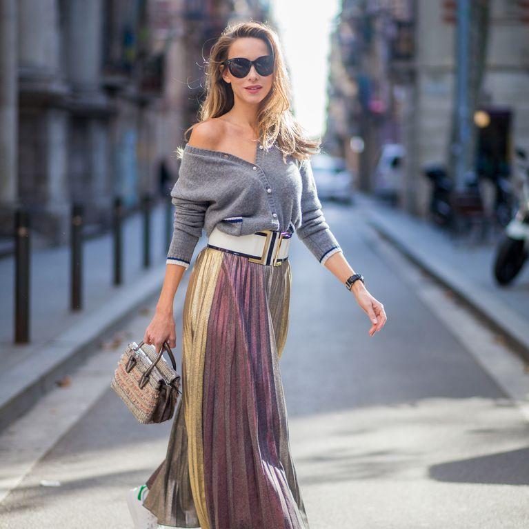 08f01a6d2f Maxirock kombinieren: Die besten Styling-Tipps für bodenlange Röcke