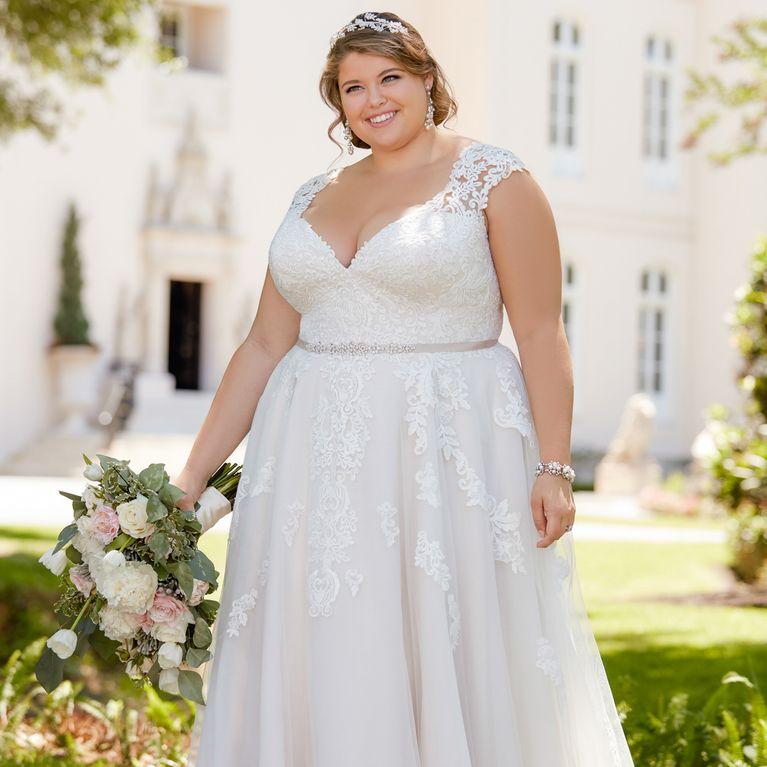 Hochzeitskleid kurz fur mollige