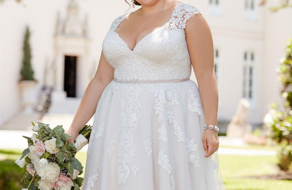 Welches Brautkleid für Mollige? Die schönsten Kleider für Kurvenstars