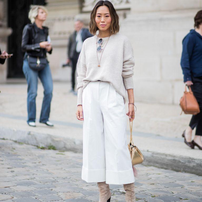 buy popular a38bf 2c3bf Culottes kombinieren: So gelingt euch der Trend-Style