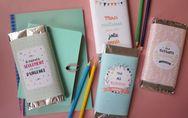 Des tablettes de chocolat personnalisées pour l'enseignant.e de votre enfant
