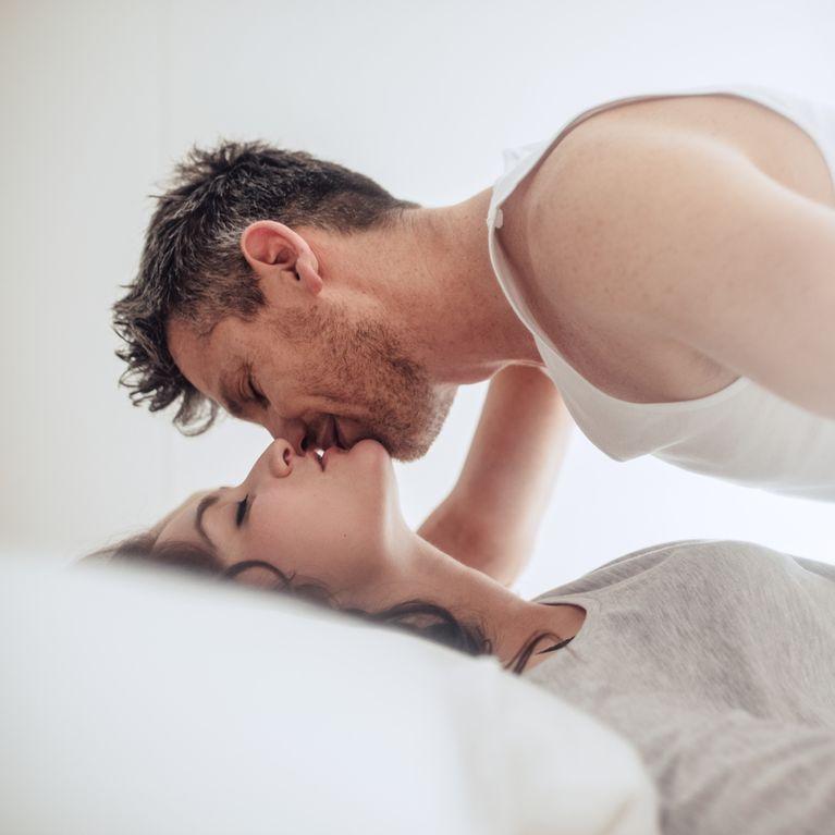 Beim Sex zitternden