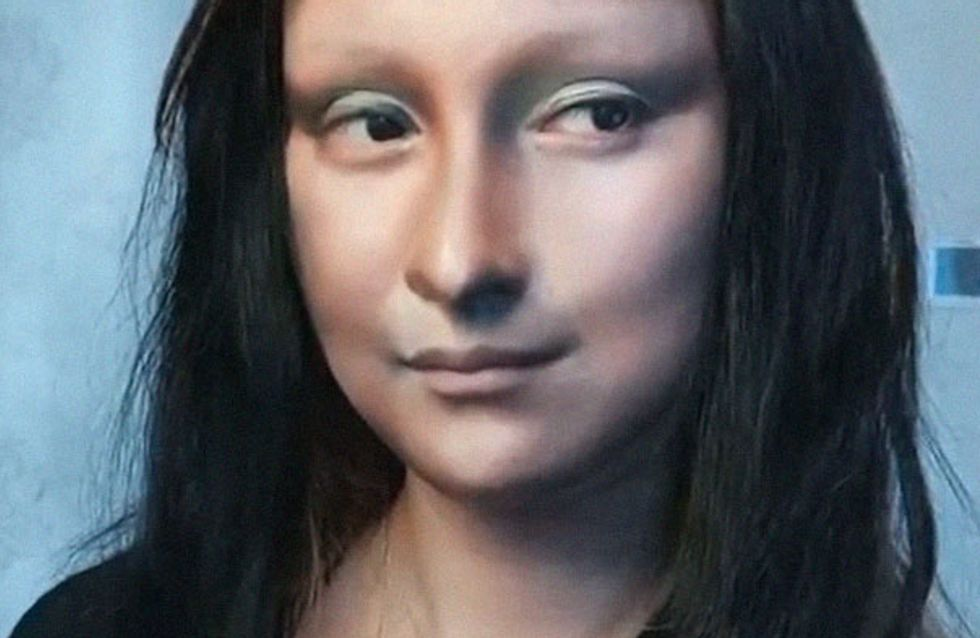 ¡La magia del maquillaje! Esta bloguera se convierte en la Mona Lisa