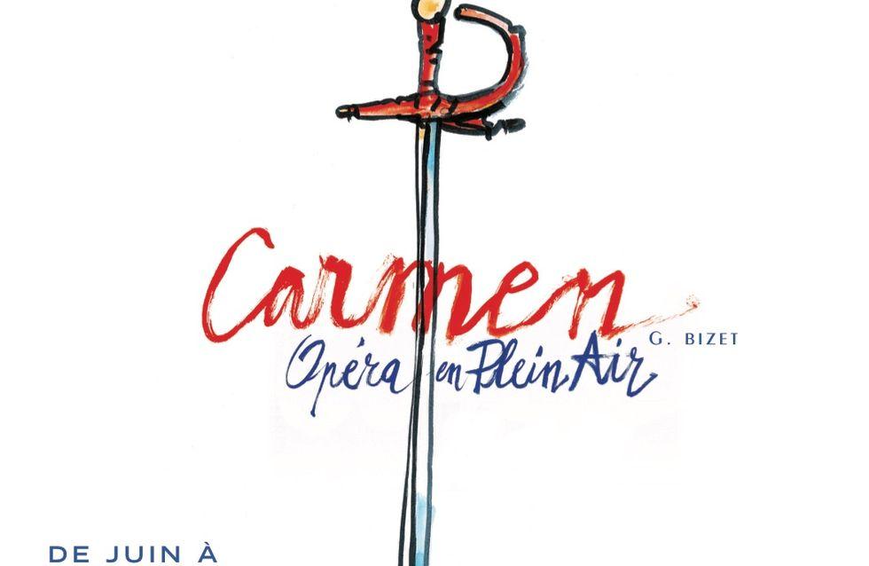 L'incontournable Carmen débarque à l'Opéra en Plein Air et on a hâte