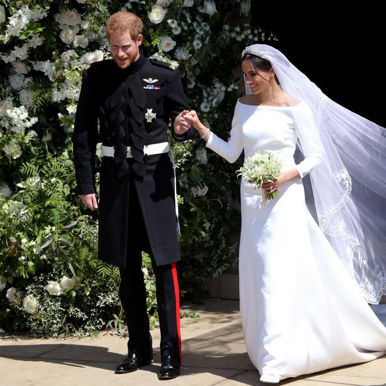 On Peut Acheter La Même Robe De Mariée Que Meghan Markle