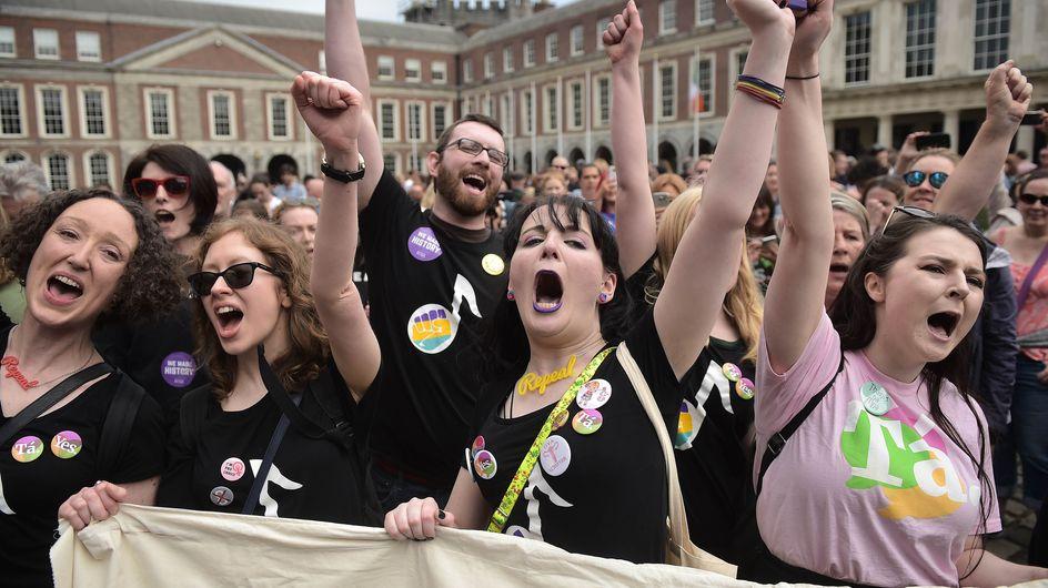 """Historique ! L'Irlande dit """"oui"""" à la légalisation de l'avortement"""
