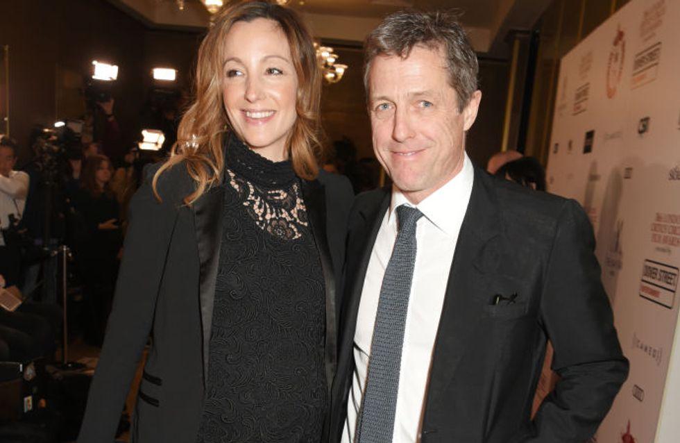 Hugh Grant s'est marié avec la productrice suédoise Anna Eberstein
