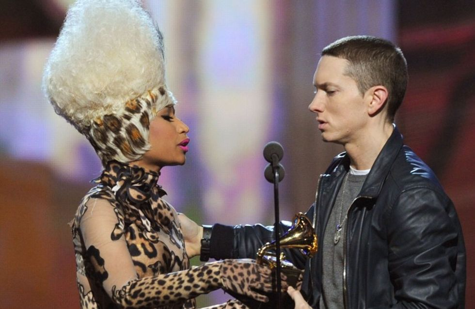 ¿Están juntos Eminem y Nicki Minaj?