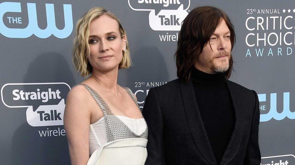 Diane Kruger y Norman Reedus esperan su primer hijo