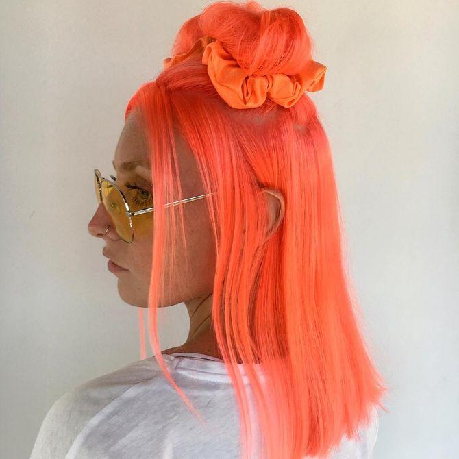 Neon Peach - Résultat