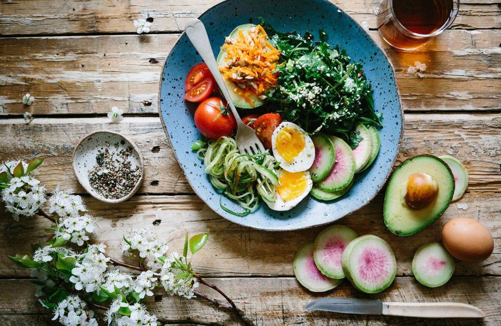 Recetas de ensaladas de vegetales para adelgazar