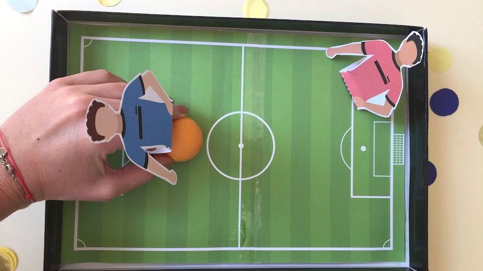DIY Coupe du monde : une partie de foot à domicile