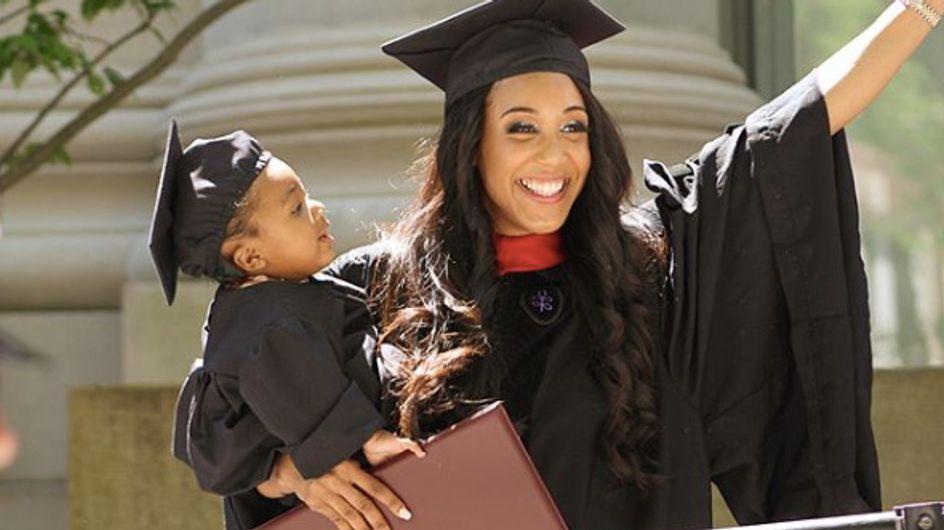 Cette maman de 24 ans sort diplômée de Harvard en finissant ses exams sous péridurale