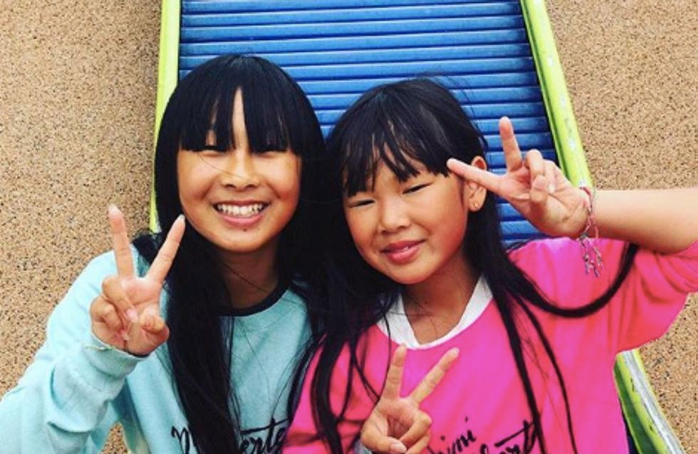 Jade et Joy Hallyday, les filles de Johnny sont de retour le sourire aux lèvres
