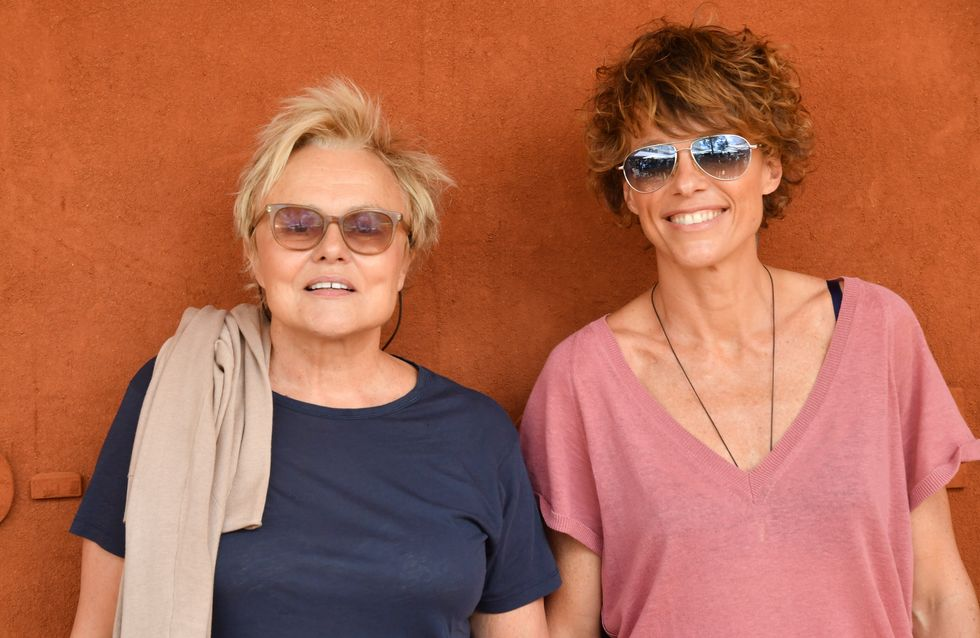 Muriel Robin, Audrey Lamy... Les stars s'affichent en couple à Roland-Garros