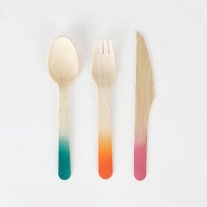 Pique-nique : choisis une vaisselle écolo-friendly, comme ces couverts myLittleDay