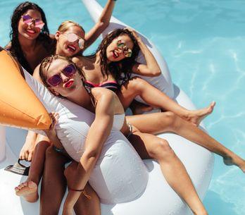 Cómo hacer que una pool party sea súper <U+0091>instagrameable<U+0092>