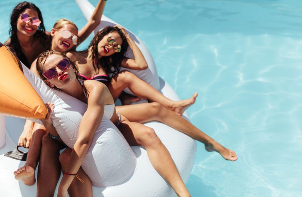 Cómo hacer que una pool party sea súper 'instagrameable'