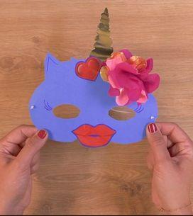 DIY : Licorne, super-héros, créez des masques pour enfants très facilement