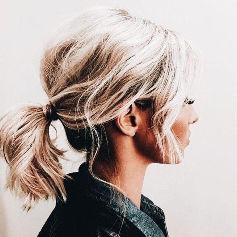 Peinado semi recogido facil paso a paso