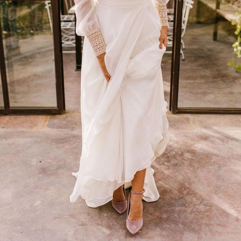1d4575e3 ¿Qué zapatos quieren llevar las novias de 2018?