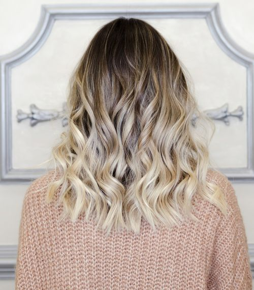 blond färben oder strähnen