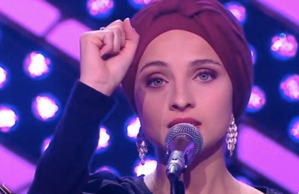 """The Voice : menacée de mort, Mennel se confie, """"ça peut détruire des vies"""""""